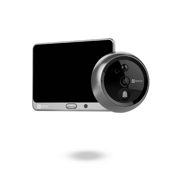 Mirilla digital para puerta con timbre y detección de movimiento EZVIZ DP1