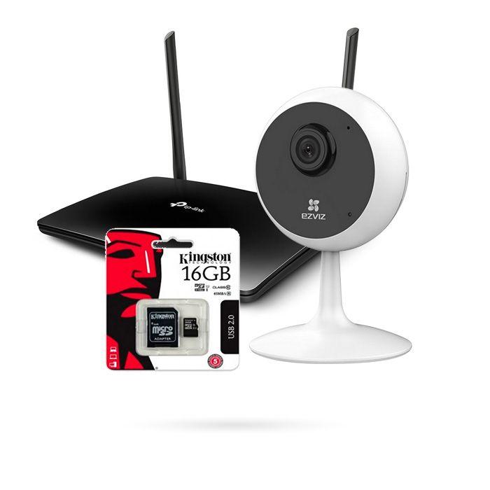 Kit Vigilancia Sin Adsl Con Tarjeta Sim Kit4g La Tienda Inteligente