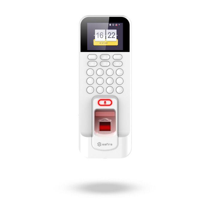 Lector de huella digital para control de asistencia con controladora SAFIRE KRONE