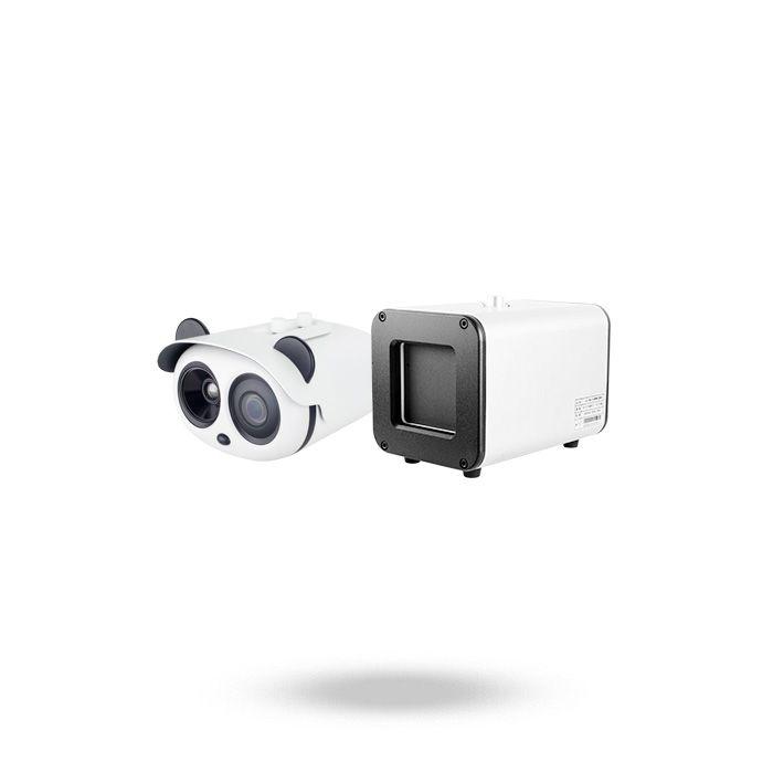 Sistema de reconocimiento facial con detección de fiebre corporal a distancia mediante cámara térmica KIT PANDA