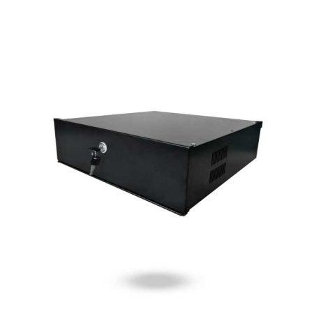 Caja metálica para videograbadores