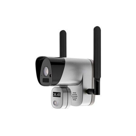 Cámara detectora de fiebre IP WIFI con aviso sonoro en cámara y notificación en móvil DOKTER