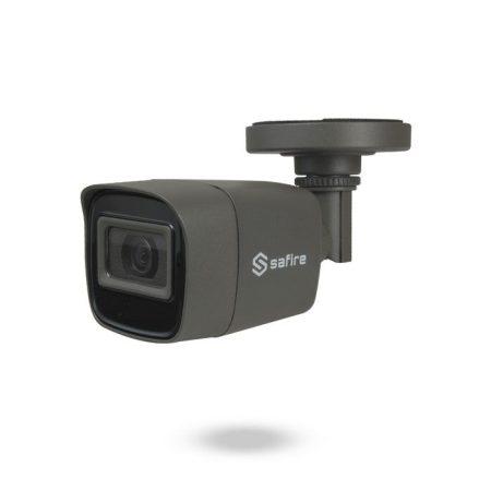 Cámara analógica de seguridad con audio FULL HD Lente Fija IR 30m SAFIRE SENTINEL NEGRA
