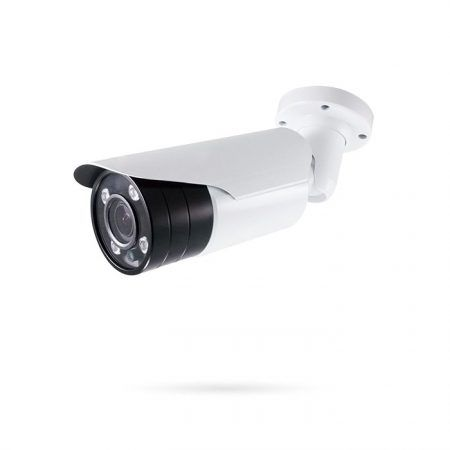 Cámara analógica CCTV exterior 4K Varifocal Motorizada Visión nocturna 50m SKUAD BLANCA