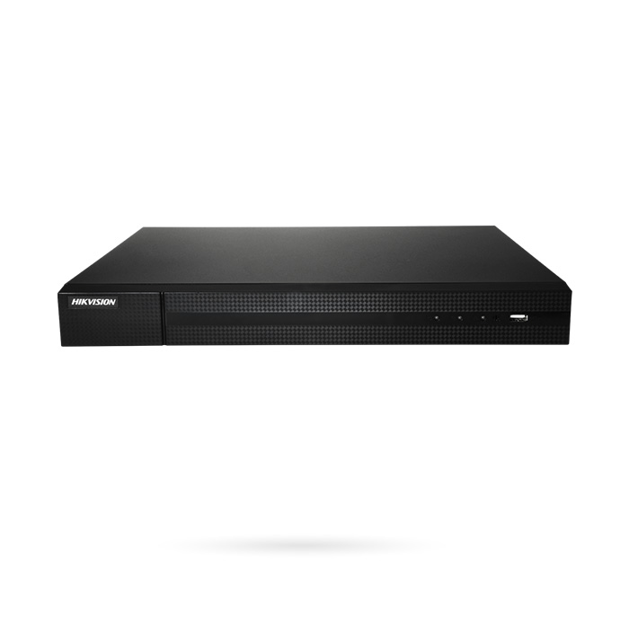 NVR Hikvision 4 canales PoE de 8 megapíxeles CORAL